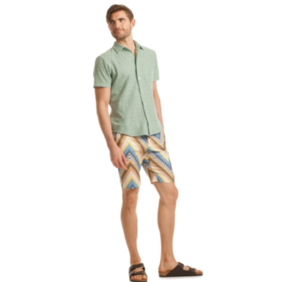 29da8ec2ea MR TURK 30 Arroyo Chevron Safari Board Shorts. M_5c6da6609539f78316a5841c